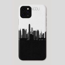 Chengdu - Phone Case by Deniz Akerman