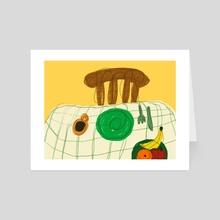 table - Art Card by Orin Dee