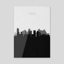 Oslo - Acrylic by Deniz Akerman