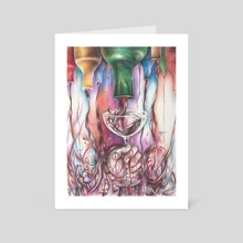 New Wine - Art Card by terrance mcdow
