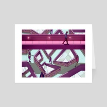 Two Ways - Art Card by Laurent Hrybyk