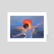 Ebb and Flow - Art Card by kiddays_