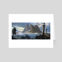 Forgotten Kings  - Art Card by Piotr Tekien
