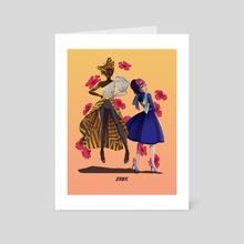 Ororo X Betsy - Art Card by Kyrby Padilla