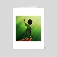 Earth Girl - Art Card by DJ Stevenson