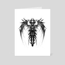 Dark Queen - Art Card by Oussama Agazzoum