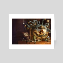 Xanathar's Guide to Everything (cover and wraparound) - Art Card by Jason Rainville