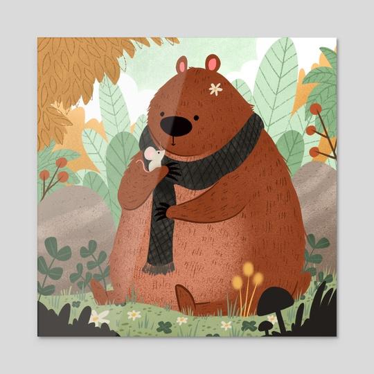Bear Bud by Bee