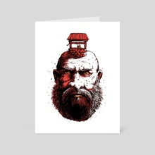 Old Soul - Color 100 Limited Edition Prints - Art Card by Kacper  Gilka