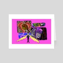 makima is listening - Art Card by 666melonbar