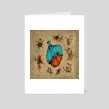 Fruit #12 - Art Card by Ljev Rjadcenko