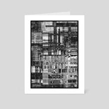 "WWP 137 ""ihnihtcts.jpg"" - Art Card by Martin Naumann"