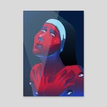 Eyes - Acrylic by staoix