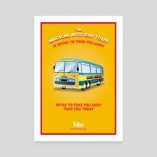 Magical Mystery Tour Beatles Poster's - Canvas by Alessandro Berzuini