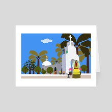 Mexico 1 - Art Card by Michal Eyal