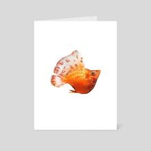 Balloon Molly - Art Card by Hannah Kennedy