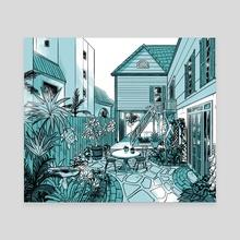 Garden - Canvas by Savanna Ganucheau