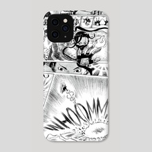 Ibuki vs Balrog page-2 - Phone Case by GEORGE SCHALL