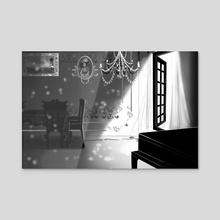 Interior #1 - Acrylic by Kira .  ♤