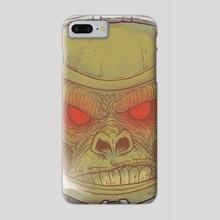 Space Monkey - Phone Case by Luca Marcenaro