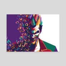 joker - Canvas by feiru sia
