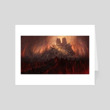The Desperate Lamentations - Art Card by Noah Bradley