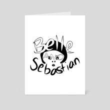 Belle and Sebastian #2 - Art Card by Lauren Scott