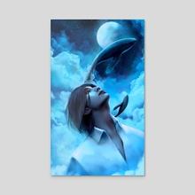 Ocean of Stars - Acrylic by ScarletBlossom