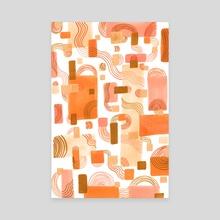 Bend and Break - Alternative version - Canvas by Nicki Fortunati-Warren