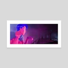 cyberlove - Canvas by Cherry