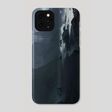 Black Shore Kingdom  - Phone Case by Sergey Grechanyuk