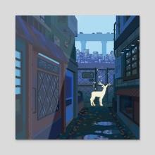Encounter - Acrylic by minimoss