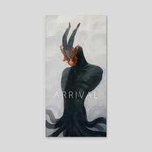 arrival - Acrylic by Liza Ryzhova