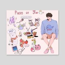Pieces of Jin - Acrylic by Luna