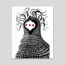 Triclops - Acrylic by Devin Neumann
