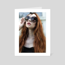 Prada Sunglasses - Art Card by Alice Rose