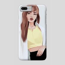 BLACKPINK Lisa (2) - Phone Case by milkyopi