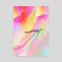 Subsidence 2 - Canvas by 1X NewArt