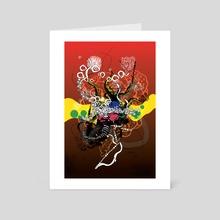 Abstractum 36 - Art Card by Francis Farago