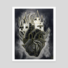 Heart of Gold - Canvas by DarkLetter Books