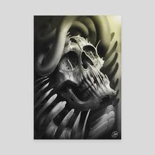 sskull - Canvas by carlos suñe
