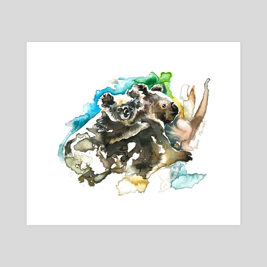 Koala And Joey 2 by Tracie MacVean