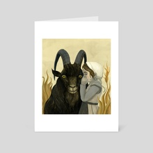 The Goat Whisperer - Art Card by Jorge Mascarenhas
