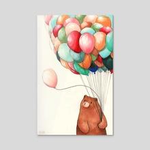 Deflating - Acrylic by Felicia Chiao
