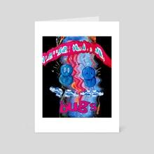 BUGS sick new album - Art Card by Len Jones