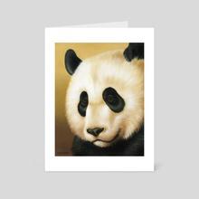 Black and White III - Art Card by Jennifer DiArenzo