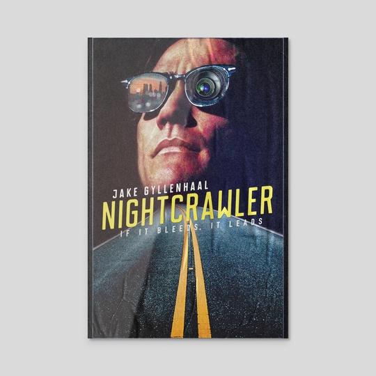 nightcrawler movie print by luke jones