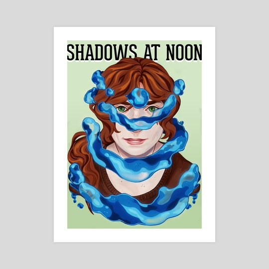 Shadows at Noon - Trista by Mel de Carvalho