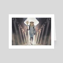 Containment Priest - Art Card by Igor Kieryluk