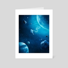 Isolation - Art Card by Benjamin  Faile